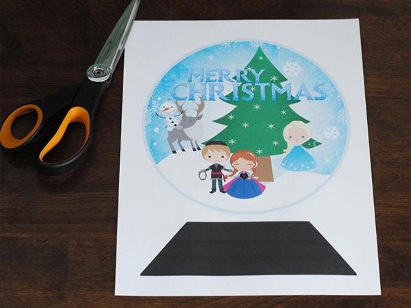 frozen craft idea