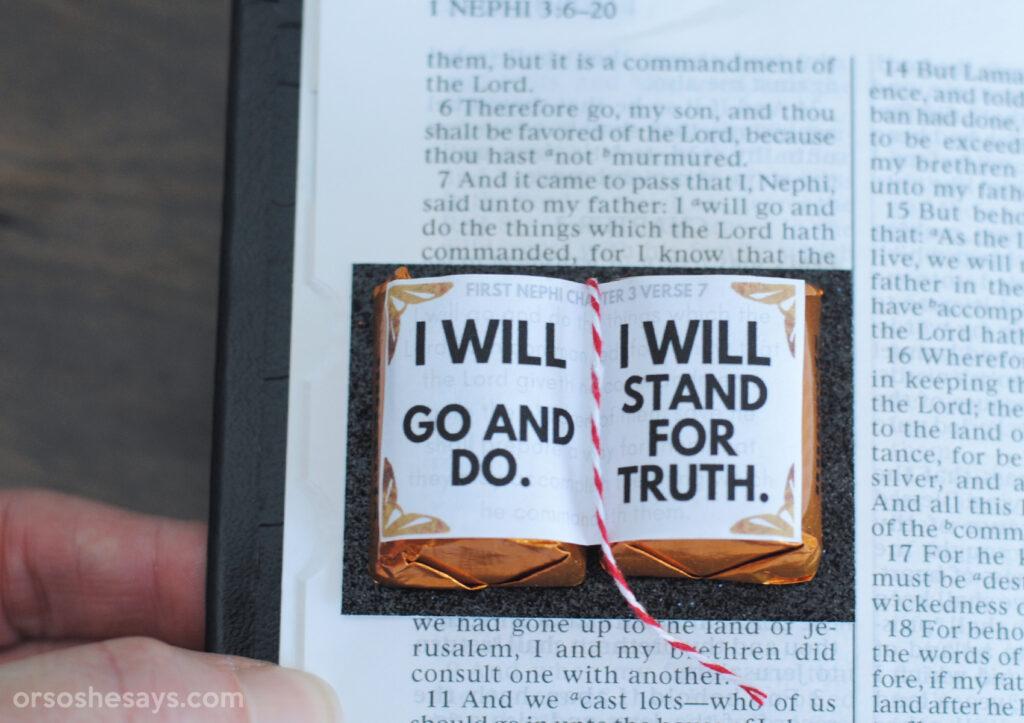 scripture handout