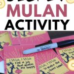 Disney Mulan activity