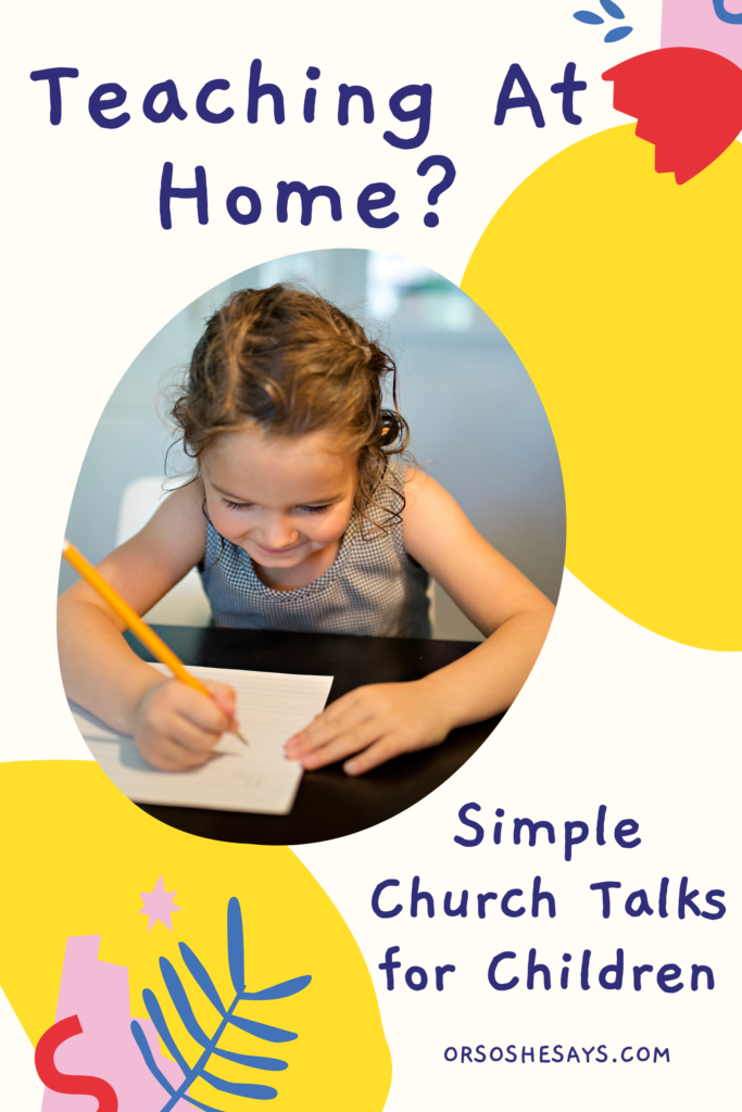 Primary age talks for latter-day saint children to use for church meetings at home. These talks are written based on the Come Follow Me topics for April. #OSSS #ComeFollowMe #PrimaryTalk