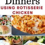 rotisserie chicken dinners