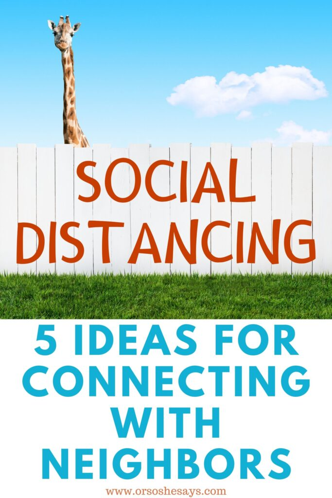 Social Distancing with Family