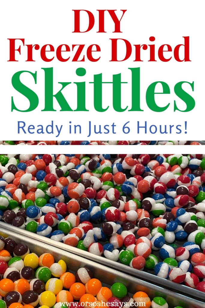 freeze dried skittles bulk