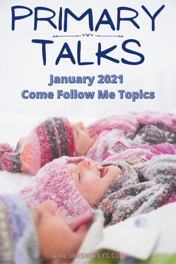 Pin For Primary Talks January 2021