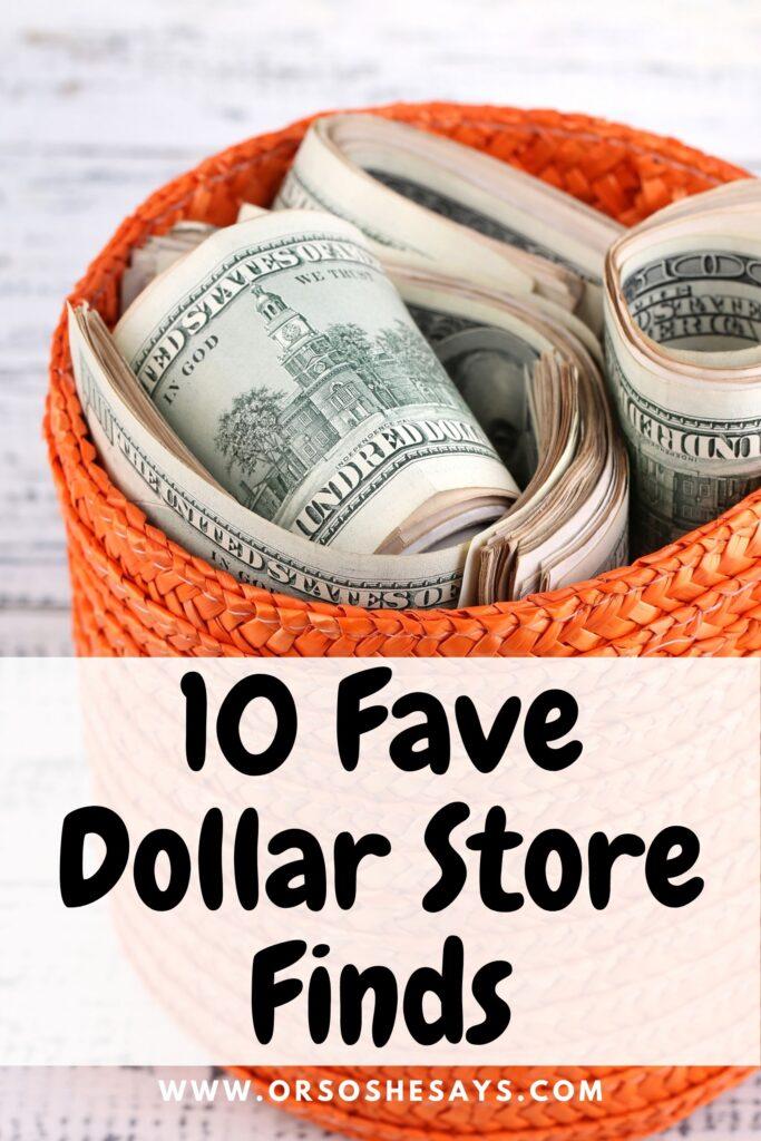 fun dollar store finds